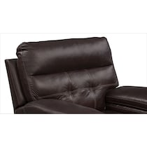 brisco brown power brown power glider recliner
