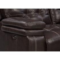 brisco brown power brown power reclining sofa
