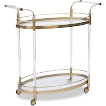 britta gold bar cart
