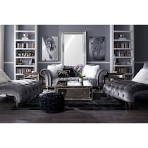 brittney charcoal gray  pc living room
