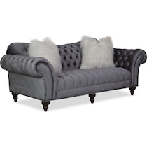 brittney charcoal gray sofa