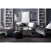 brittney charcoal gray sofa