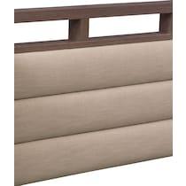 britto dark brown king bed