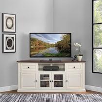 brooke white tv stand