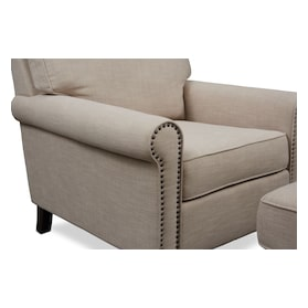 Brooks Chair with Ottoman
