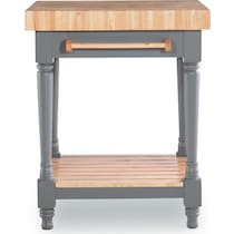 brunswick gray kitchen island