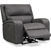 burke gray  pc power reclining living room