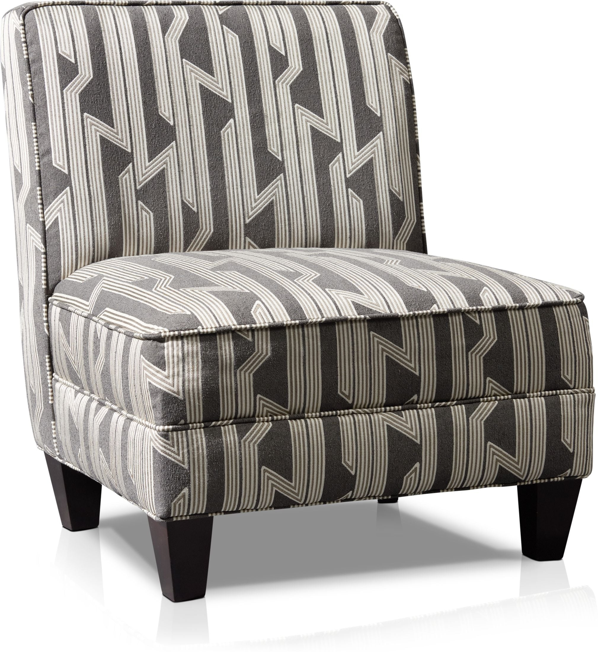Living Room Furniture - Burton Accent Chair