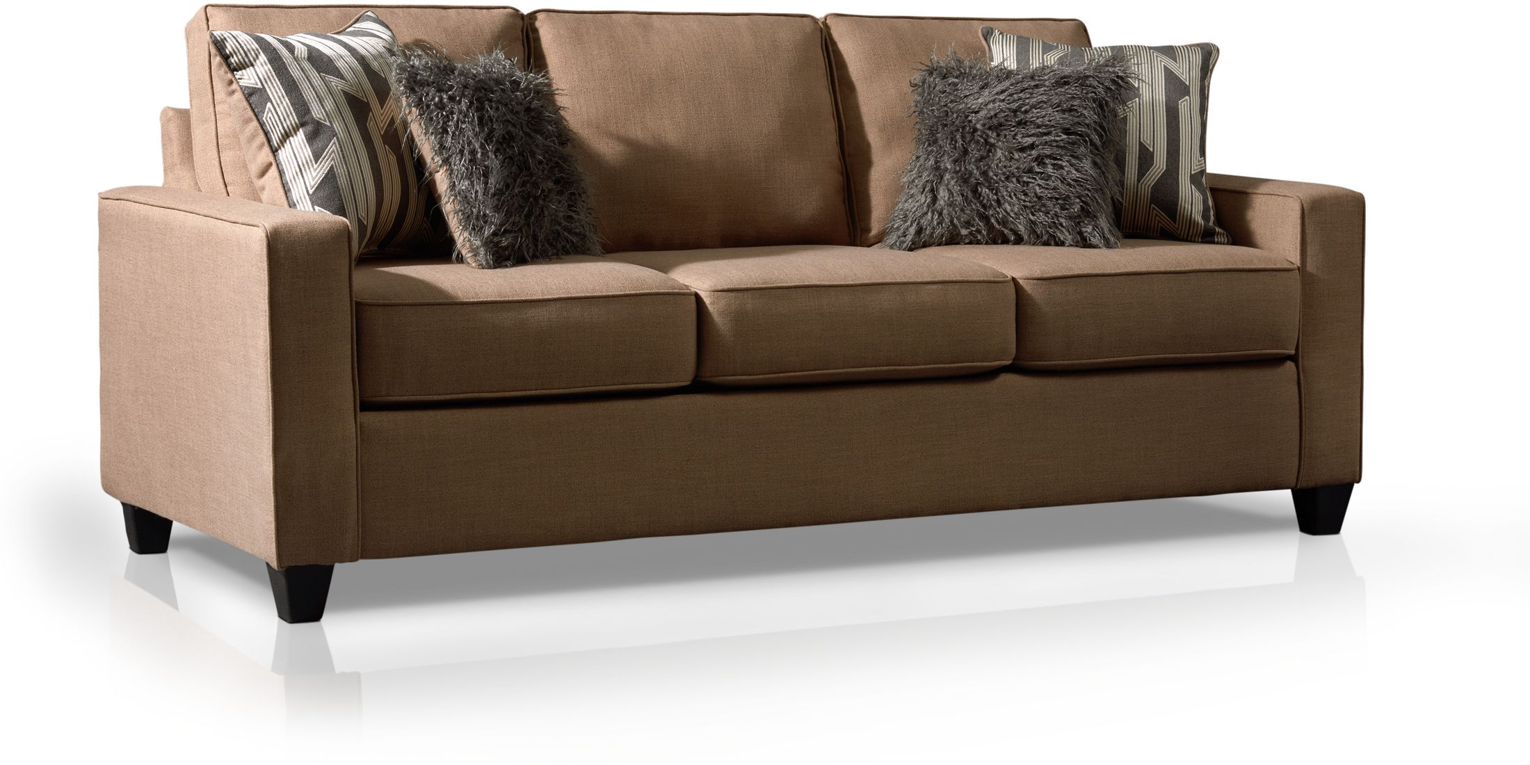 Living Room Furniture - Burton Queen Sleeper Sofa