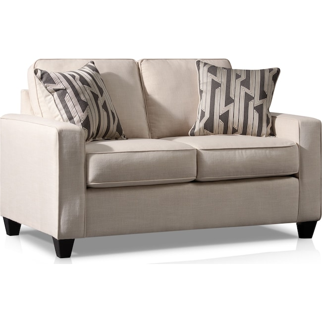 Living Room Furniture - Burton Loveseat