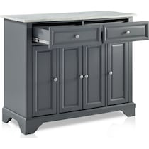 byrde gray kitchen island