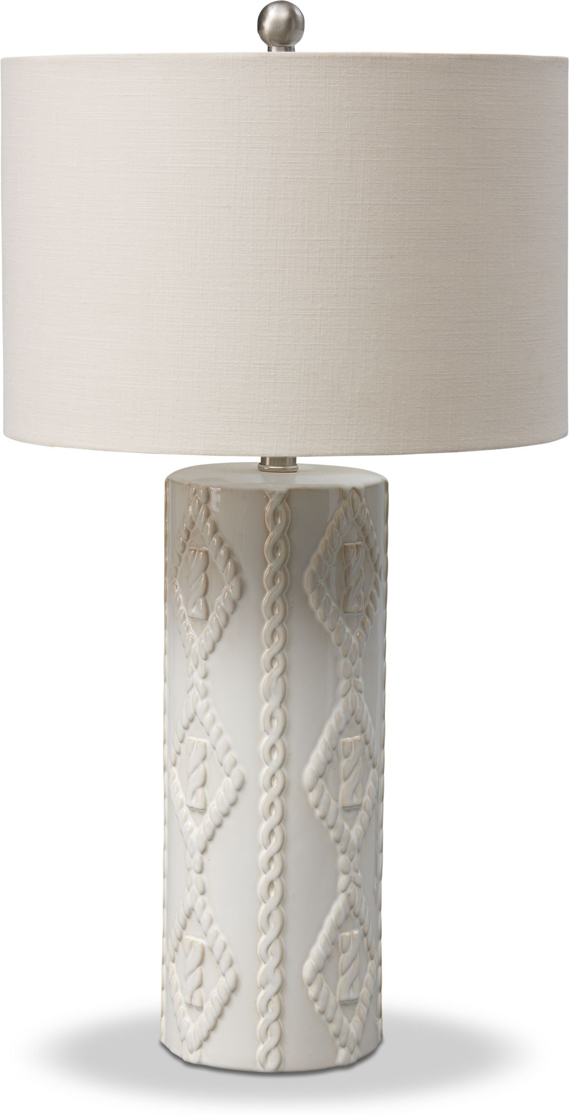 Home Accessories - Cable Knit Table Lamp