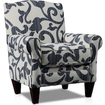 calloway blue accent chair