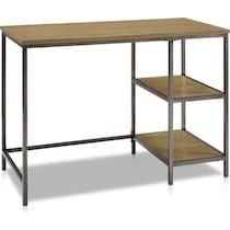 cam dark brown desk