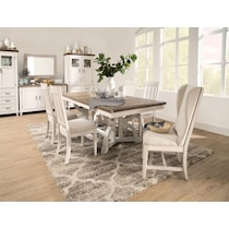 cambridge white dining table