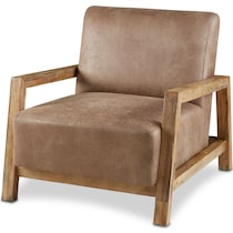 cameron taupe accent chair