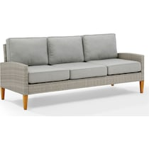 capri gray outdoor sofa set