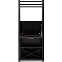 carlton black bar cabinet