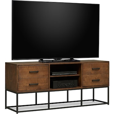 "Carter 64"" TV Stand - Pine"