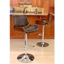 catania brown bar stool