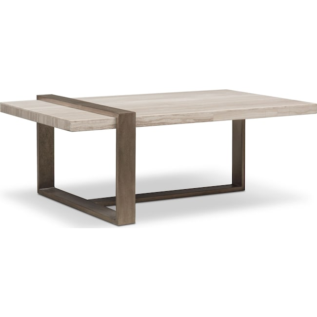 Accent and Occasional Furniture - Celadon Marble Coffee Table