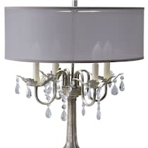 chandelier silver table lamp