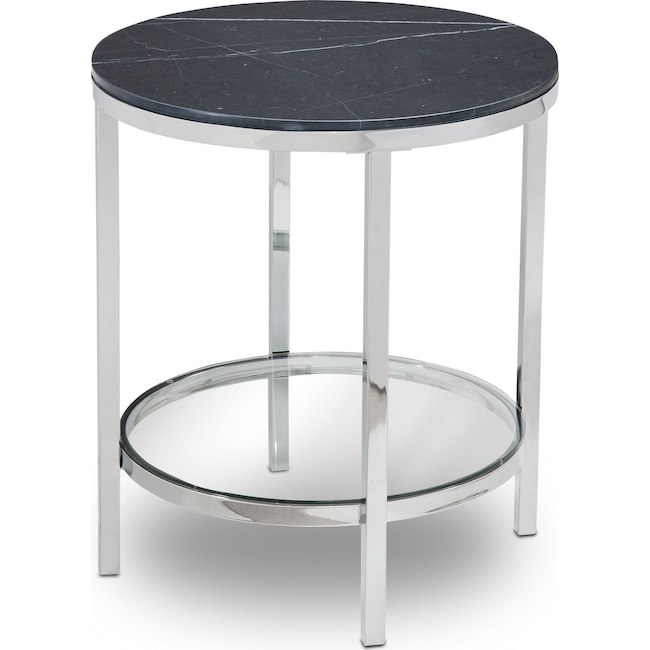 Accent and Occasional Furniture - Charisma Marble End Table