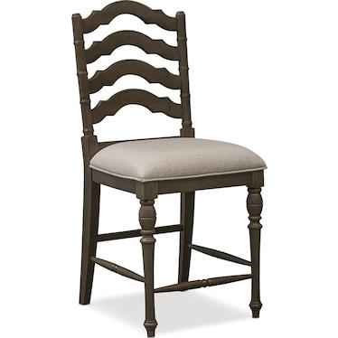 Charleston Counter-Height Stool - Gray