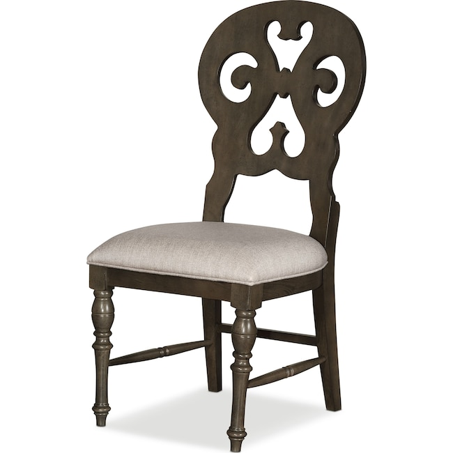 Dining Room Furniture - Charleston Scroll-Back Dining Chair