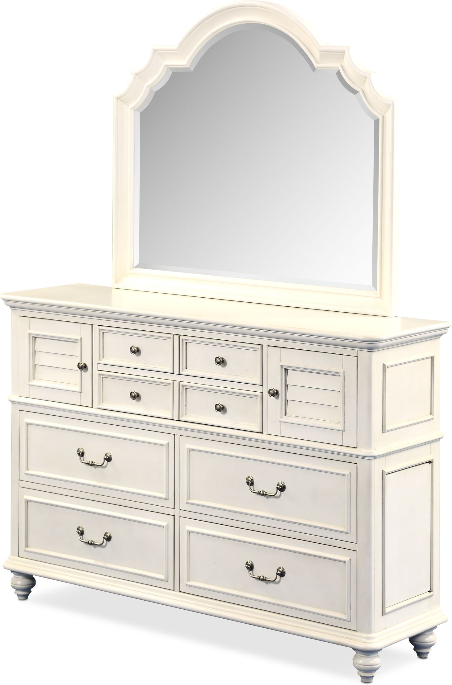 Charleston Dresser And Mirror Value City Furniture