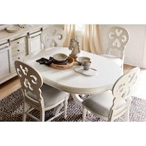 charleston white  pc dining room