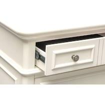 charleston white nightstand