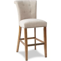 charlotte beige bar stool