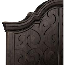 charthouse bedroom dark brown  pc king bedroom
