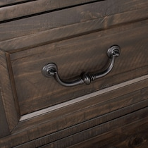 charthouse bedroom dark brown chest
