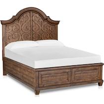 charthouse bedroom light brown  pc king bedroom