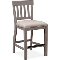 charthouse counter height gray counter height stool