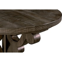 charthouse occasional dark brown chairside table