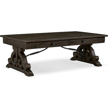 Charthouse Coffee Table - Charcoal