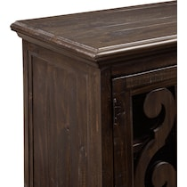 charthouse occasional dark brown fireplace tv stand