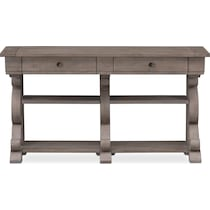 charthouse occasional gray sofa table