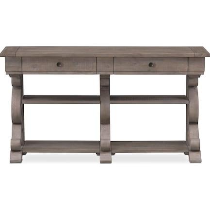 Charthouse Sofa Table - Gray