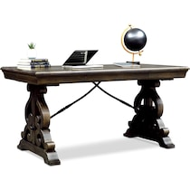 charthouse office gray desk
