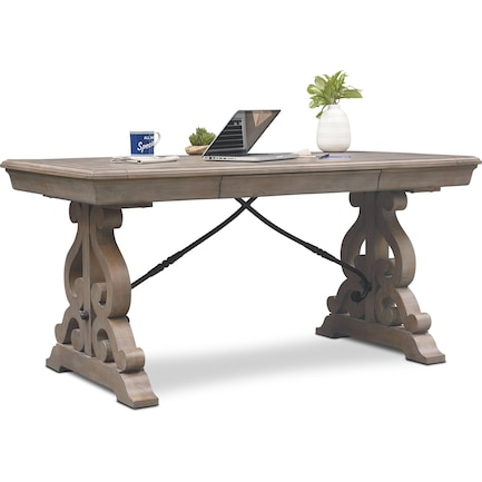 Charthouse Office Desk  - Gray