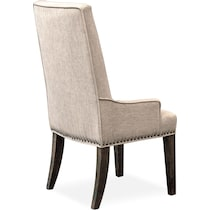 charthouse dark brown chair