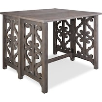 charthouse gray  pc counter height dining room