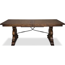 charthouse light brown dining table