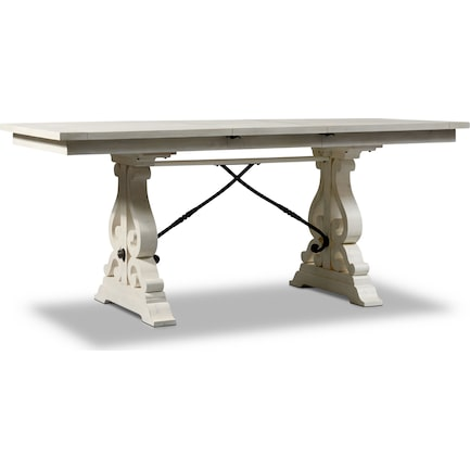 Charthouse Counter-Height Dining Table - Alabaster
