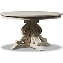 charthouse white dining table