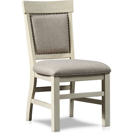 Charthouse Upholstered Dining Chair - Alabaster